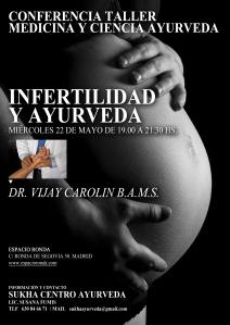 cartel infertilidad ayurveda