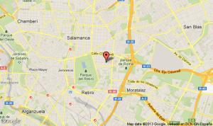 mapa c/ ibiza